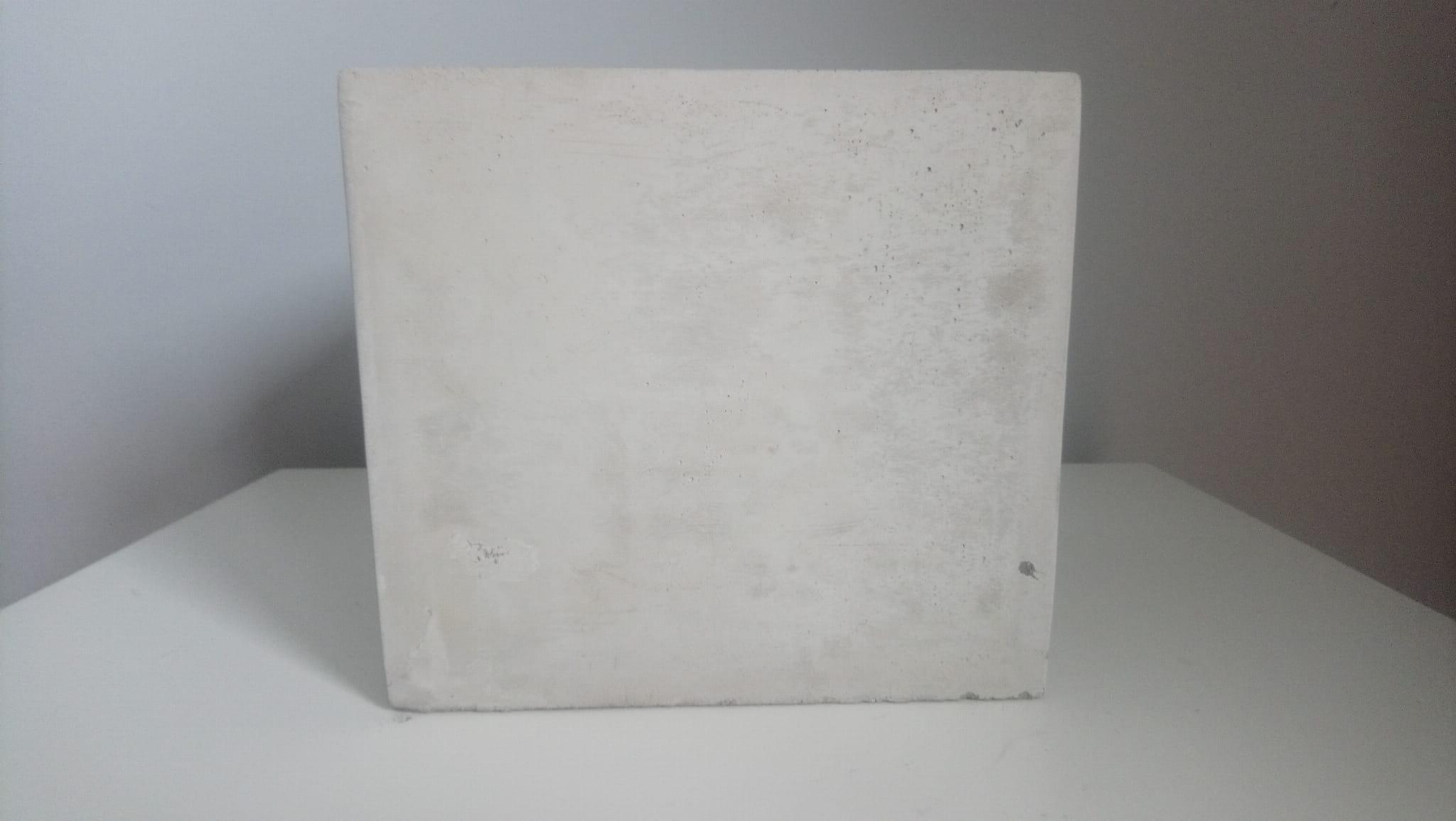 Osłonka Sześcian 17x17 Imitacja Betonu